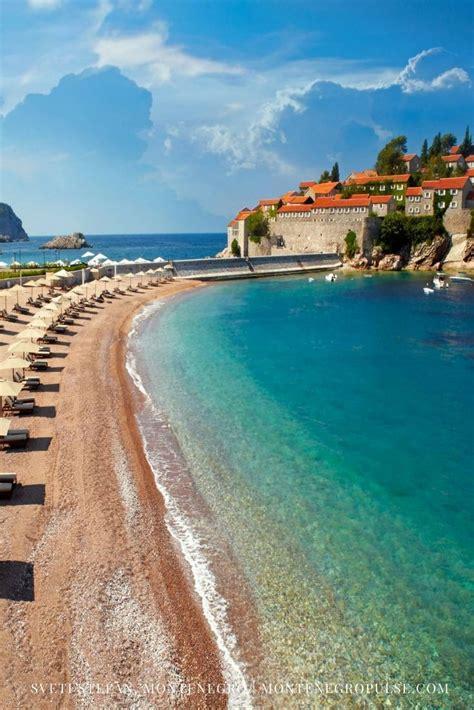 Sveti Stefan Budva Riviera Montenegro Travel In 2019