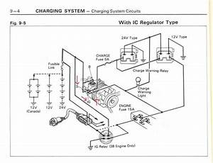Toyota Land Cruiser Alternator Wiring Diagram  Land Rover