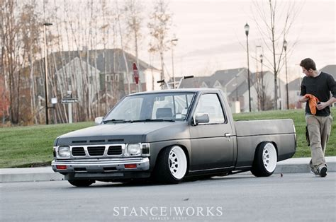 stanced nissan hardbody stanced cars blazer forum chevy blazer forums