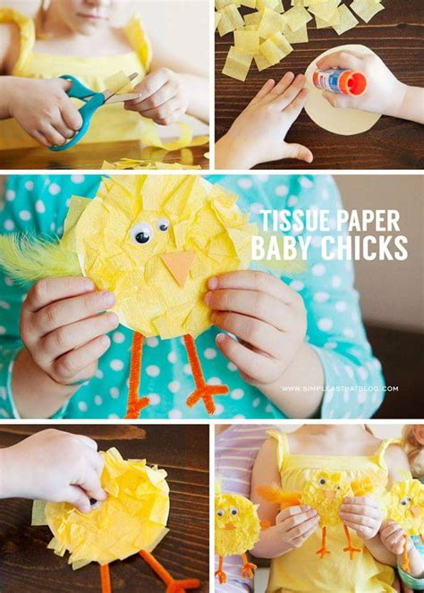 simple easter crafts ideas  inspire