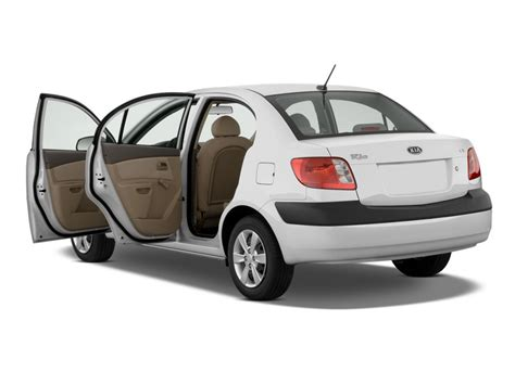 image  kia rio  door sedan auto lx open doors size