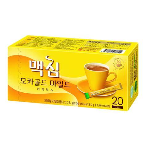 Maxim kanu latte korean instant coffee mix collection 10/30/50/100 sticks. Maxim Coffee mix 3 in 1 20T from KOREA mocah gold mild | Shopee Singapore