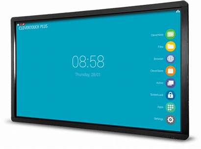 Clevertouch Touch Screen Clever Interactive Plus Screens
