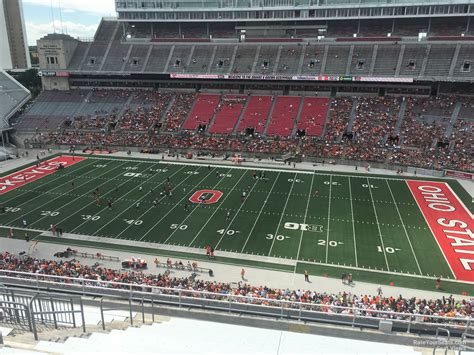 ohio stadium section  rateyourseatscom
