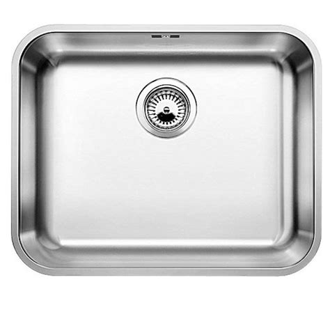 stainless steel kitchen sinks uk blanco supra 500 u stainless steel sink kitchen sinks 8278
