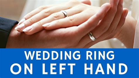 why are wedding rings worn on left hands history of