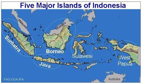 maps  indonesia islands  printable maps