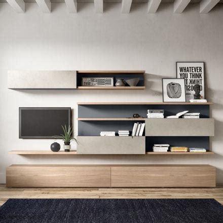 pareti attrezzate per soggiorno mobili soggiorno arredaclick