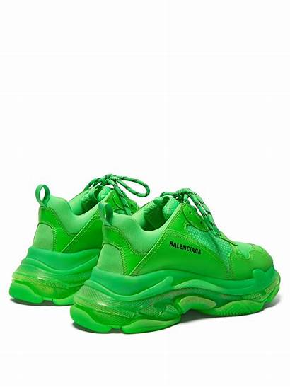 Balenciaga Triple Sneakers Leather Sole Clear Trainers