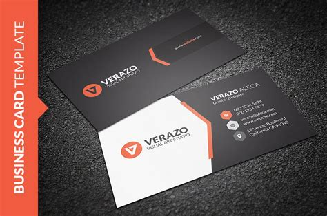 cool card template clean creative business card business card templates