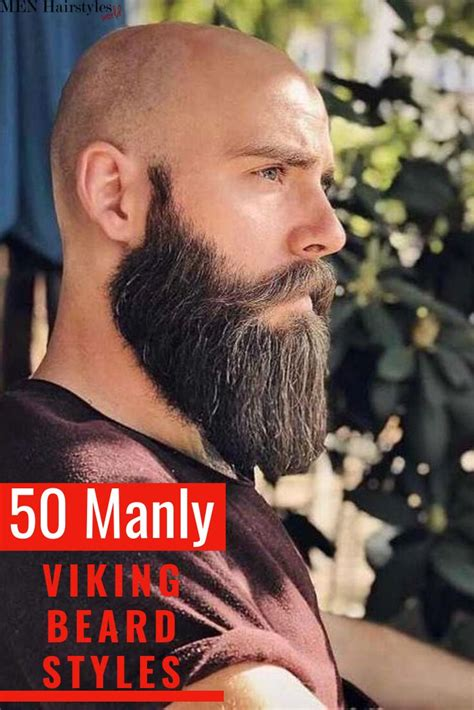 The beard narrows down as it tapers to a point. 50 Manly Viking Beard Styles to Wear Nowadays