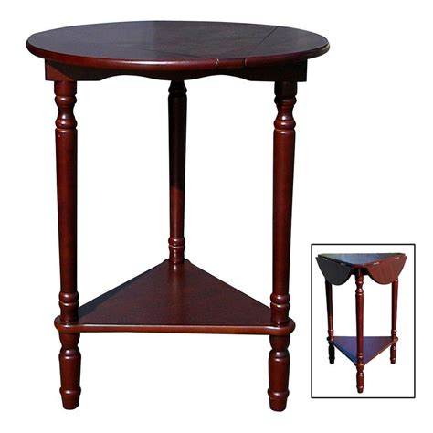 home depot table ls ospdesigns knob hill nesting table in antique cherry set