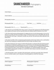 contract shane harder photography With contract for wedding photography services