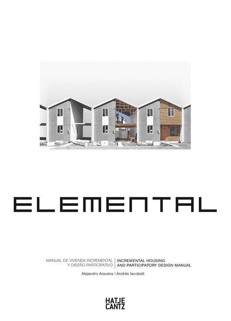 Elemental  Architecture  Hatje Cantz