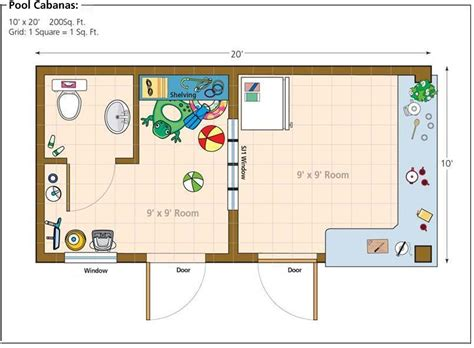 pool house plans home office shed studio