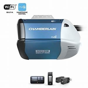 Chamberlain Garage Door Opener Wireless Keypad Belt Drive