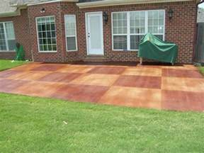 stained concrete patio floors for backyard patio floor
