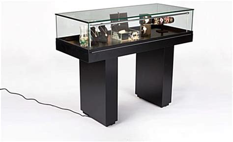 these jewelry cases feature a neutral black finish at the