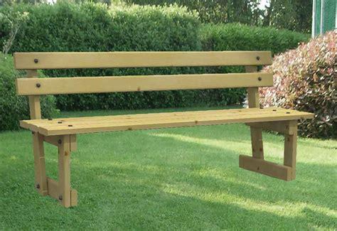 panchine di legno panchine in legno e altri materiali panchina in legno