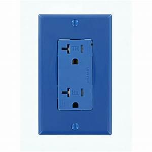Prise 20 Ampere : leviton 20 amp commercial grade tamper resistant self ~ Premium-room.com Idées de Décoration