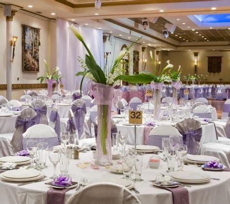 Ideas for Wedding Centerpieces LoveToKnow Purple