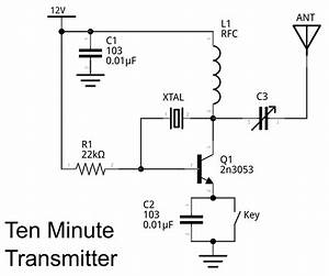 Makerf  Ten Minute Transmitter