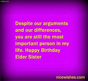 Birthday Wishes For Elder Sister - Page 4
