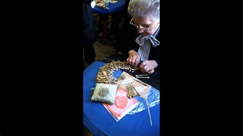 bobbin lace demonstration youtube