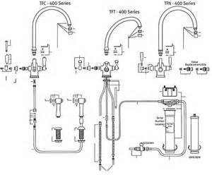 franke kitchen faucet parts franke tft 400 tfc 400 tfn 400 series part catalog