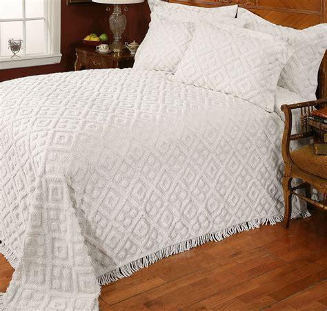 stylemaster diamond chenille bedspread