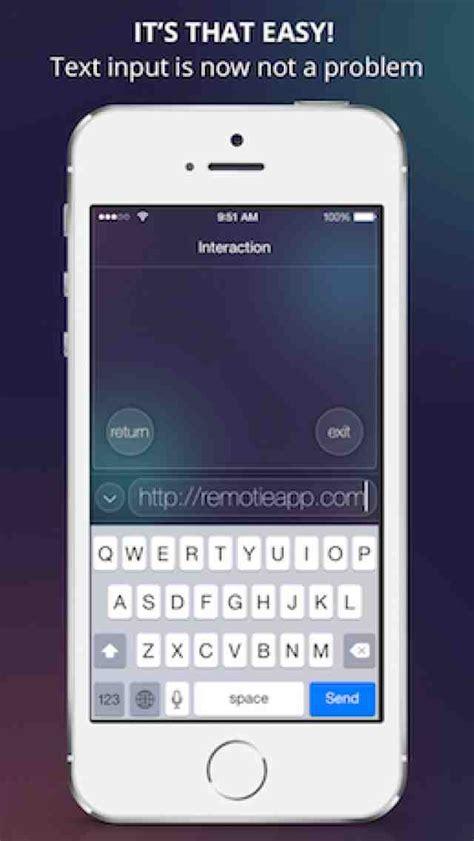 samsung remote app iphone remotie remote keyboard for samsung smart tv app for