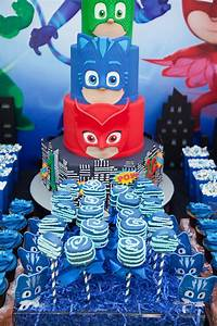 Kara's Party Ideas PJ Masks Superhero Birthday Party ...