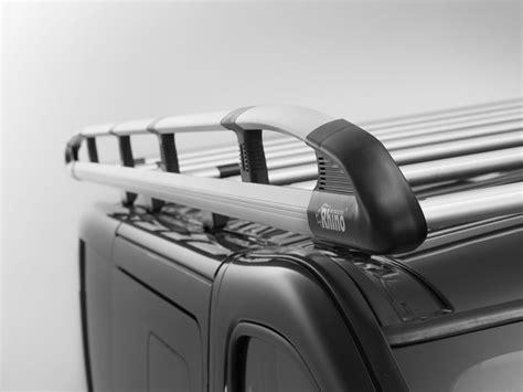 rhino aluminium van roof rack heavy duty system  vw