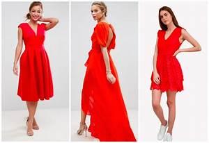 Robe Rouge Mariage Invité : robe rouge pour invite mariage ~ Farleysfitness.com Idées de Décoration