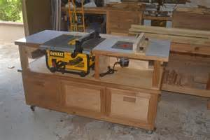 Portable Band Saw Stand by Table Saw Router Cabinet Finewoodworking