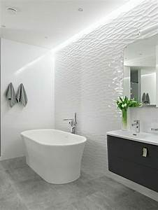 le carrelage effet beton en 55 photos inspirantes With enduit salle de bain