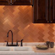 Aspect Peel And Stick Metal Backsplash Tiles Learn More