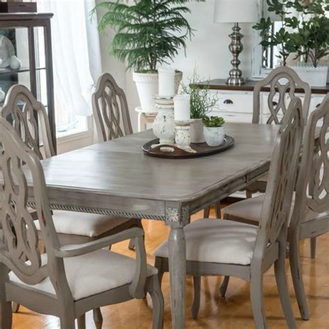 Painted Kitchen Furniture painted furniture ideas how to paint a table correctly