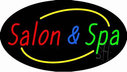 Spa Salon Sign Neon Signs Animated