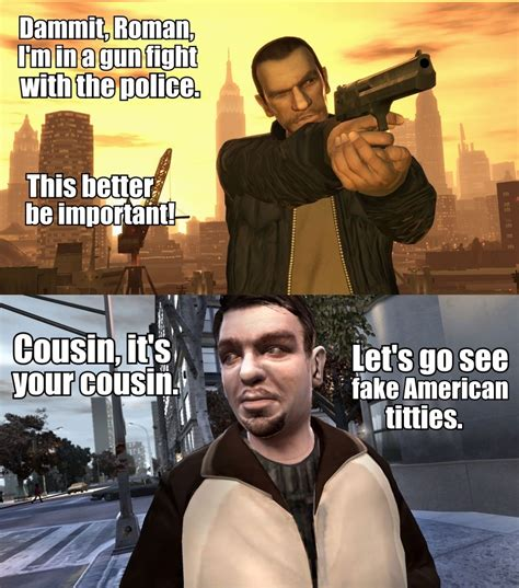 Gta 4 Memes - gta logic video game logic know your meme