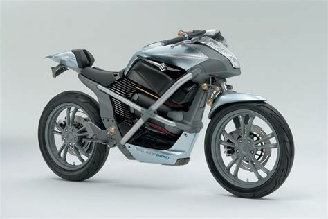 Potential Fuel Cell Suzuki Motorcycle