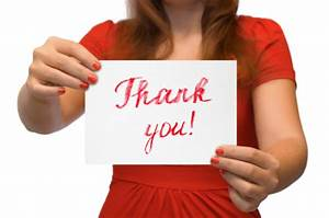 Thank You Notes Job Interview After A Great Job Interview Write A Killer Thank You Note