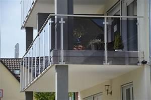 Treppengeländer Mit Glas : treppengel nder mit pfosten boden seiten montage konfigurieren ~ Markanthonyermac.com Haus und Dekorationen