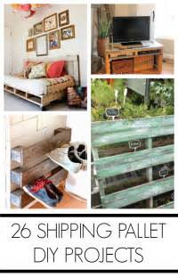 Make A Bench Out Of Pallets by 26 Shipping Pallet Projects C R A F T