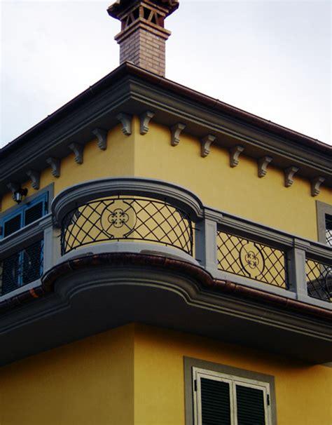 ringhiera in cemento ringhiere in ferro e cemento per balcone