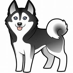 Husky Cartoon Images Cartoon Siberian Husky Alaskan