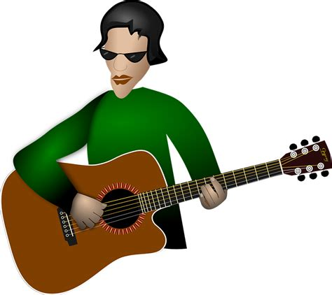 playing  guitar clipart  clip art