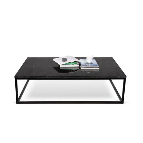 temahome table basse 120cm quot prairie quot marbre noir m 233 tal