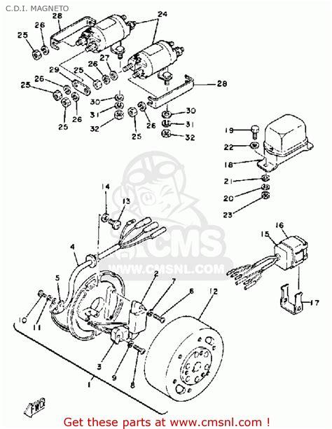 G1 Starter Wiring Diagram by Yamaha G1 A3 Golf Car 1982 C D I Magneto Schematic