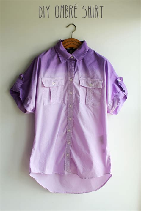 The Forge Diy Ombre Dip Dye Shirt